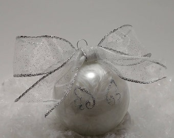 Angel Wings Ornament (Personalize)
