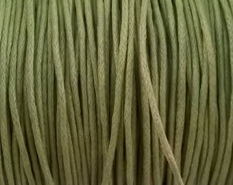 Pistachio green coton from 1 mm cord