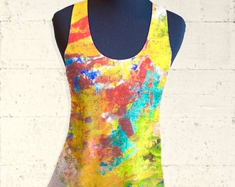Sherwood Forest Racerback Tanktop, XS - L AVAILABLE NOW