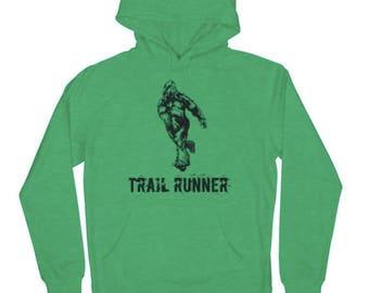 Bigfoot is a Trail Runner Hoodie