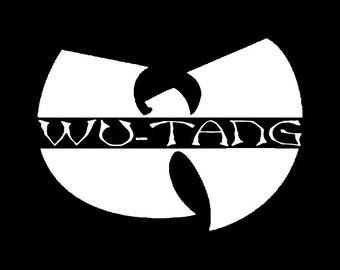 Wu Tang decal, Wu Tang sticker, Wu Tang vinyl, WuTang clan vinyl, Wu Tang clan decal, Wulife decal, Wumusic sticker, hip hop decal
