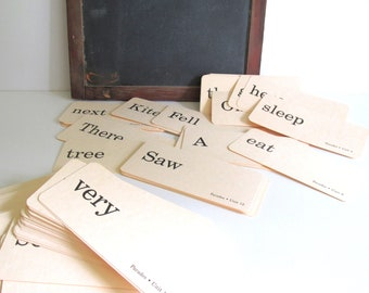 Flash Cards 1986 Parades Word Card Scrapbook Altered Art Supplies 100 Flashcards