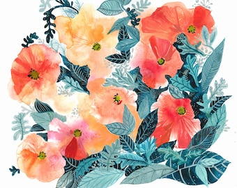 Poppies-Archival Print