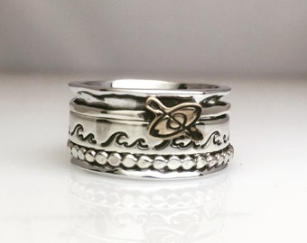 Kayak Adventure Spinner Ring