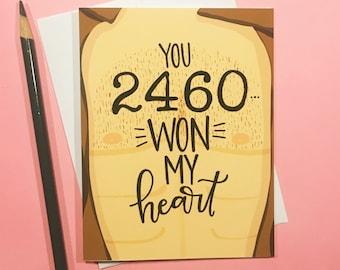 24601 Les Miserables Love Card / You 2460 WON my heart
