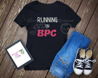 Running on BPC Crew neck Tee