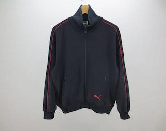 Puma Jacket Puma Vintage Puma Track Top Jacket Men's Size L
