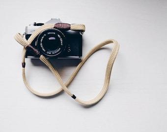 Tracolla fotocamera Mirrorless o Reflex - Cinturino Cinghia Made in Italy - Vintage !