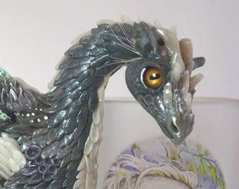 Dragon ~ Doll ~ Water ~ Sculpture ~ Handmade ~ Art ~ Polymerclay ~ MJALBERTSCULPTS