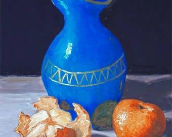 Original oil painting still life VII