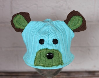 Upcycle Sweater Hat Pattern includes 5 sizes and 3 options bear, owl, and cow-Instant Download-PDF 10