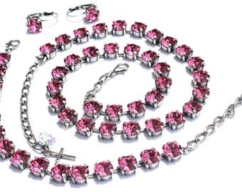 Swarovski Pretty In Pink Bracelet