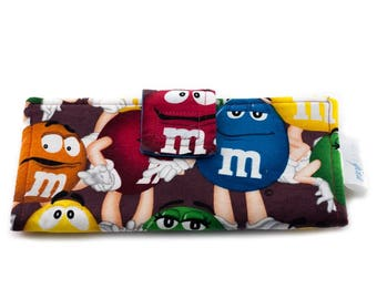 Wallet with M&M for women