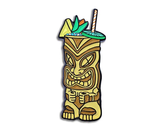 Tiki Drink Pin