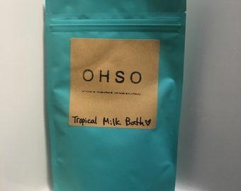 OHSO tropical milk bath