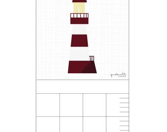 Bar for child's room – lighthouse