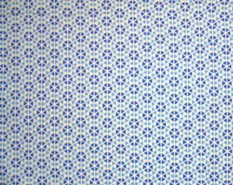 MAGASIN fermeture vente - fin de boulon - Moda, Hubba Hubba, bleu, moi et ma soeur Designs, tissu patchwork 100 % coton, courtepointe, géométrique