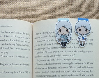 Magnetic Bookmarks • Land of Winter
