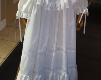 Vintage style flower girl dress.