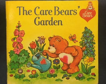 The Care Bears Garden Childrens book 1983 release by American Greetings