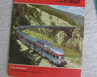 Eastward Across Canada by CP Rail Booklet