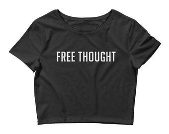 Free Thought Women's Crop Tee