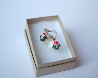 Christmas Sheep Earrings
