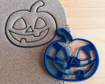 Evil Pumpkin Cookie Cutter