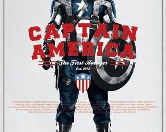 Captain America v2 Film Poster