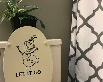 Let it Go Vinyl Decal