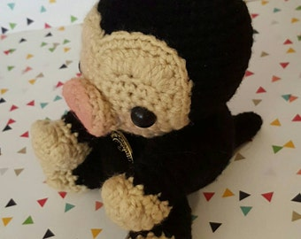 Made To Order - A Niffler Amigurumi - Fantastic Beasts and Where To Find Them- Harry Potter