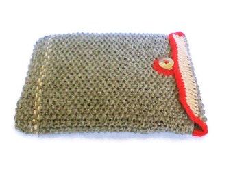 Tablette housse en tricot, sac à main gris tablette, coque galaxy, ipad lenovo, patte d'acer kindle, ereader, nook de protecteur playbook manche, sac de tablette, chaussette