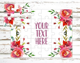 Create Your Own Puzzle - Pregnancy Announcement - Custom Puzzle - Personalized Puzzle - Announcement Ideas - Wedding Announcement - CYOP0133