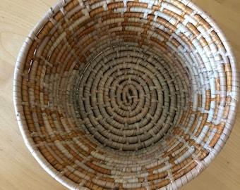 Vintage coil basket