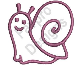 Snail Outline - Machine Embroidery Design
