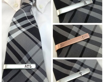 stocking stuffers for men, custom tie clip, personalized gifts for men, gifts for him, husband gift