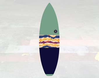 NEW IN | Volcan-Oh | Surfboard Sock | Horizon Pistachio