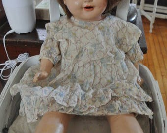 Vintage Doll Composition Doll 1925 Rosemary Effanbee