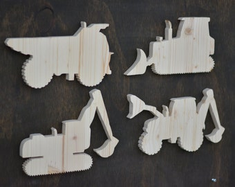 Wood Construction Cutouts