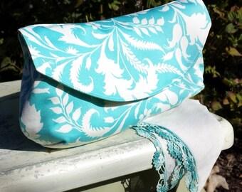 The Hadley Custom Clutch Fabric Purse, Free Shipping