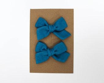 Mini Pinwheel // Caribbean Pigtail Set