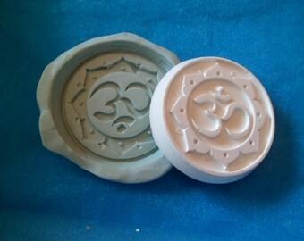 moule silicone  medaillon  symbole bouddhiste pour fimo wepam