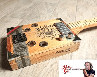 """3 string cigarbox guitar """"The Rogue"""""""