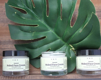 Organic Face Cream with Green Tea and Shea Butter