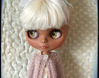 Blythe Doll Knitted Luxury Merino & Mohair Cardigan