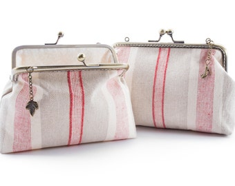 Women's pochette, Annie Sloan fabric, fantasies of your choice