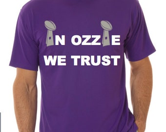 In Ozzie We Trust, t-shirt,  100% cotton