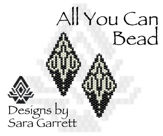 Peyote Earrings Pattern 131 Bead Weaving INSTANT DOWNLOAD PDF