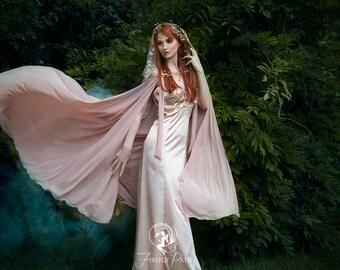 Elven Romance Gown & Cape