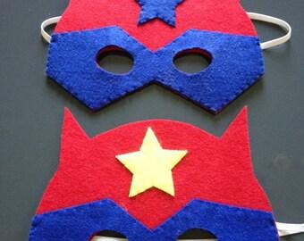 Masque de super héros pour héros
